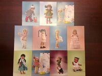 Tonner Kish Riley - Set of 11 Postcards New Vintage greeting postal cards