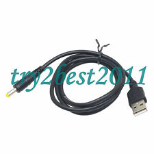 USB male to 4.0x1.7mm power adapter cable charger for PSP1000 PSP2000 PSP3000