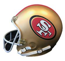SAN FRANCISCO 49ERS FULL SIZE FOAM HELMET HEAD NEW