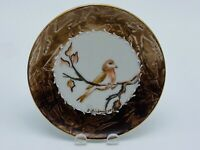 Vintage Eversberg Mini Decorative Plate West Germany Handpainted Bird