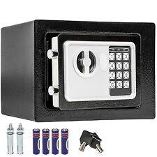 Elektronischer Safe Wandtresor Wandsafe Möbeltresor Geldschrank + Schlüssel