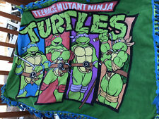 Teenager Mutant Ninja Turtles fleece double panel blanket