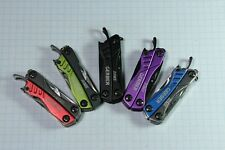 Good Condition Gerber Dime Keychain Multi-Tool Knife 10 Tools In One
