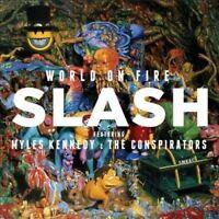 SLASH Feat. MYLES KENNEDY World On Fire (Gold Series) CD NEW Guns 'n Roses