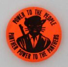 Black Panther Party For Self Defense 1967 Original 1st Armed Beret Guard Pin