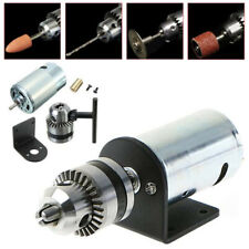 DC 12V-36V 555 Electric Motor + Miniature Hand Drill Chuck and Mounting Bracket