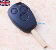 NEW 3 BUTTON REMOTE KEY FOB CASE, RENAULT CLIO MODUS VAUXHALL MOVANO VIVARO