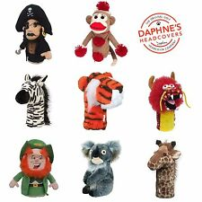 Daphnes 2019 Golf headcovers over 60 Characters Driver / Rescue Head covers