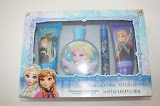 Disney Frozen Elsa Eau de Toilette Box Gift Set Spray Perfume Shower Gel NEW NIB