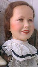 Great vintage Kathe kruse mannequin head ,1940´s
