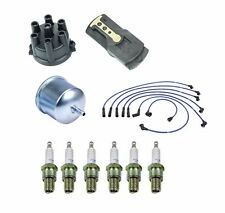 Tune-up kit NGK Spark Plugs-Wire Set-Cap-Rotor-Filters fits Nissan 280Z 75-76
