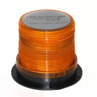 Amber LED Beacon Magnetic Bolt 12 24 V Flashing Warning Strobe Dome Amber Light