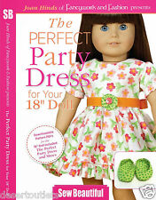 """NEW! The Perfect Party Dress for Your 18"""" Doll With Joan Hinds [DVD]"""