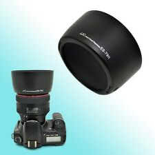 ES-79II Lens Hood Shade for Canon EF 85mm f/1.2L II USM 72mm Thread Clip On JJC