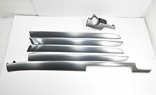 AUDI A4 B6 B7 S4 S-Line Rhd Gray Soul Interior Trim Moulding Set WW4 Aluminium