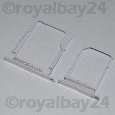 Samsung Galaxy A5 2014 SIM Halter weiß Nano+microSD NEU A500F card holder tray