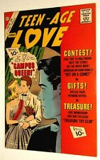 Charlton TEEN-AGE LOVE comic book ROMANCE Jan 1962 EXC COND 10 cent cover price