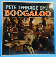 PETE TERRACE KING OF THE BOOGALOO LP 1967 STEREO RE '68 SOMERSET SEALED! MINT!!
