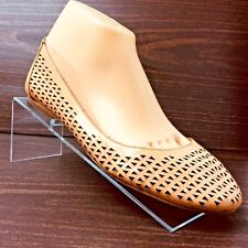 Corso Como Women's MELON COLOR Perforated Leather Ballet Flats  8M US