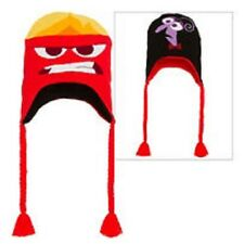 Disney Pixar Inside Out Anger & Fear Reversible Peruvian Hat - NEW!!