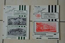 VINTAGE - 2 CATALOGUES SUYCLAM  HO (USA) 1962 & 1962.63