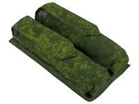 Pouch Case molle Harnesses pixel PAINTBALL airsoft bag tube 150 pod Waterproof
