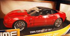 1/18 Jada Bigtime Muscle Red 2009 Corvette ZR1 Item 92025