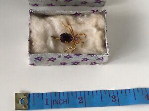 Vintage spider broach/pendant