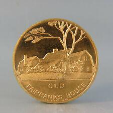 1936 Dedham, Massachusetts Tercentenary Medal