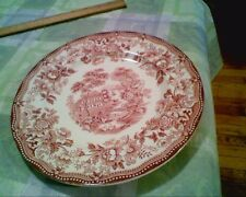 Royal Staffordshire by Clarice Cliff - Dinner Plate in Tonquin Red