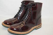 BARBOUR Damen Stiefelette Boots Lackleder Gr.39,5 UK6