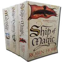 Robin Hobb 3 Books Set Collection The Liveship Traders Series Inc Ship Of Magic