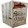 Robin Hobb 3 Books Set Collection Ship Of Magic, Ship of Destiny, The Magic Ship