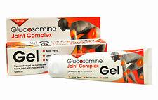 3 packs of Optima Glucosamine Joint Complex Gel 125 ml Devils Claw MSM Aloe Vera