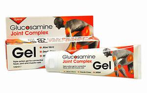 2 packs of Optima Glucosamine Joint Complex Gel 125 ml Devils Claw MSM Aloe Vera