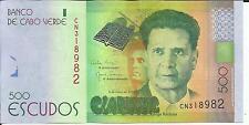 CAPE VERDE 500 ESCUDOS 2014  P NEW. UNC. 5RW 16FEB