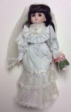 """NIB Brinn's 16"""" Porcelain Bride Doll: Wedding March Song:  G-50"""