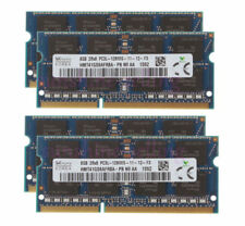 4pcs for Sk Hynix 8Gb Laptop Memory Upgrade 2Rx8 Ddr3L 1600Mhz Pc3L-12800 Sodimm