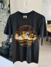 RARE Vtg Backstreet Boys 1999 Into The Millennium Tour T-Shirt Double Sided Lrg.
