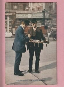 London Life, London Types, The Street hawker, W.H. Smiths