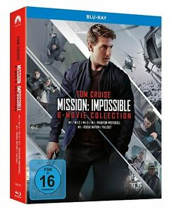 Mission: Impossible - Teil: 1 - 6 + Bonus Disc [7 Blu-ray's /NEU/OVP] Tom Cruise