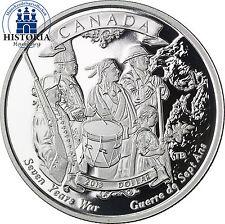 Kanada 1 Dollar Silbermünze 2013 PP 250 Jahre Ende des 7-jährigen Krieges