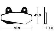 Plaquettes de frein Bendix MA51 Organique pour HONDA