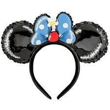 New Loungefly X Disney Minnie Vinyl Balloon Ears Disneyland Bounding