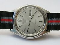 SEIKO SPORTS 5 7009-3020 VINTAGE MENS WRISTWATCH, STAINLESS STEEL, VERY CLEAN