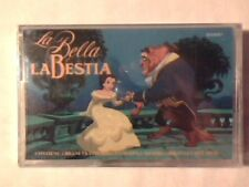 COLONNA SONORA La bella e la bestia mc cassette k7 WALT DISNEY PERUGINA PR0M0