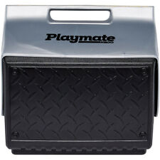 "Igloo Playmate ""The Boss"" 14 qt. Hard Cooler - Black/Silver"