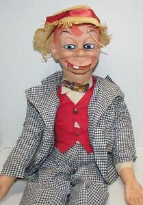 1968 Juro Mortimer Snerd Ventriloquist Dummy, Edgar Bergen