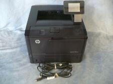 HP Laserjet Pro 400 M401dn 256MB 35PPM 1200DPI Duplex Network Laser Printer Tone