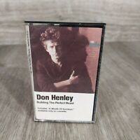 DON HENLEY BUILDING THE PERFECT BEAST CASSETTE TAPE
